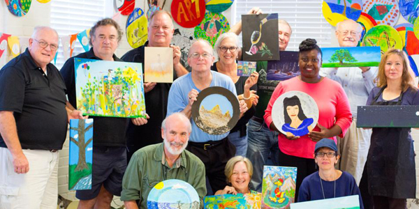 healing art for caregivers workshops
